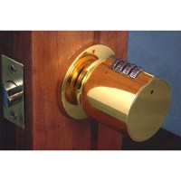 Bump Proof Keyless Combination Door Knob Lock ...