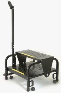 Rolling Step Stool | SSCH-220 | Free shipping!
