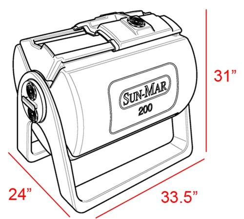Sun Mar 200 Composter Manual