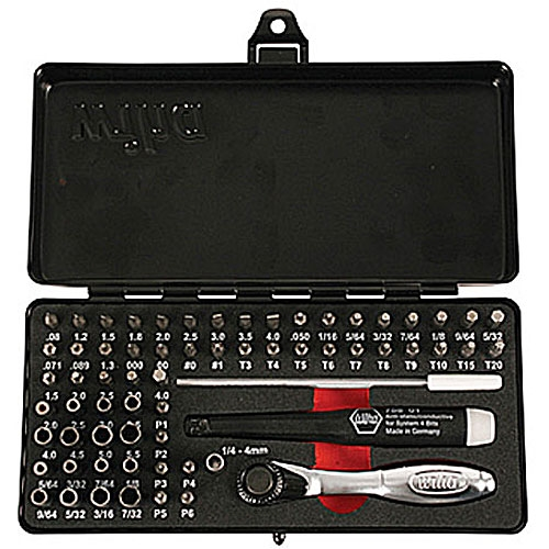 Wiha 75965 Screwdriver Bit Set Precision Micro Bit Set