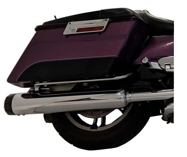 1995 2016 4 5 chrome b a m stick slip on mufflers for 95 16 h d touring