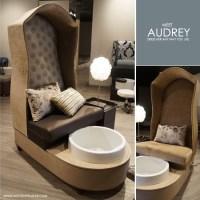 Audrey Pedicure Chair & Foot Spa