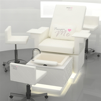 PamperME Pedicure Chair  Foot Spa