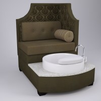 Tiffany Pedicure Chair & Foot Spa