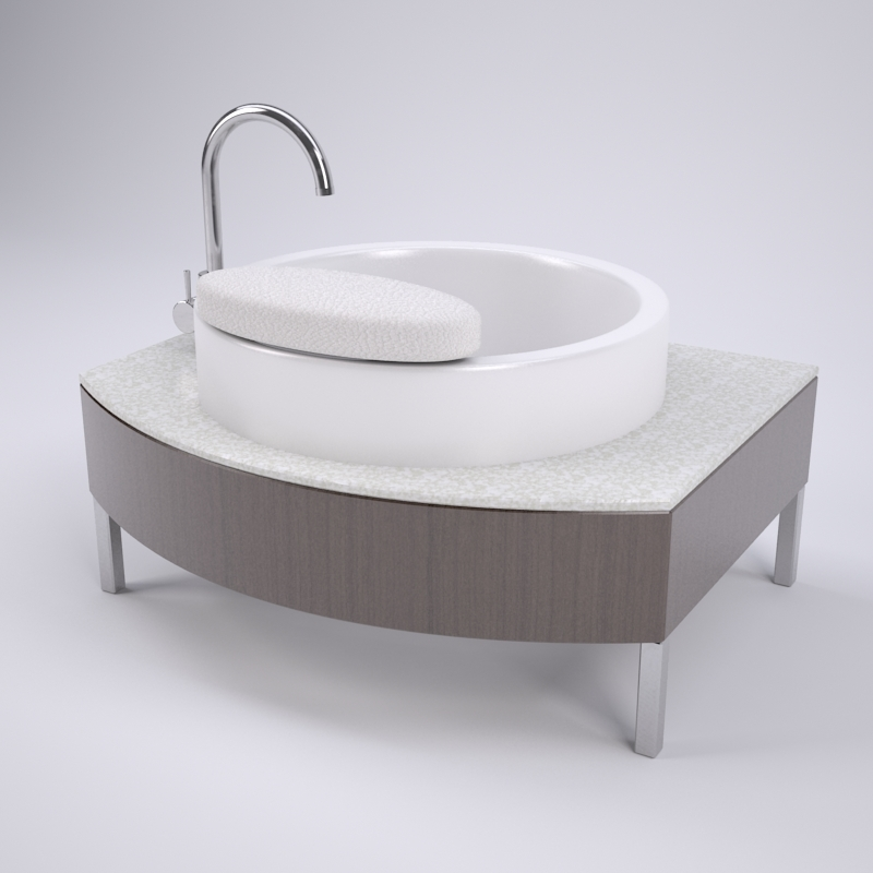 Valega Pedicure Sink Vanity