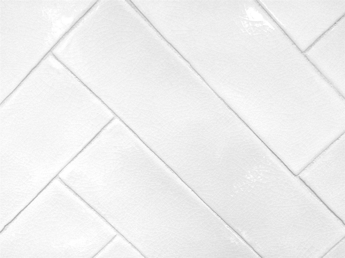 3x12 white crackled glaze subway ceramic tile