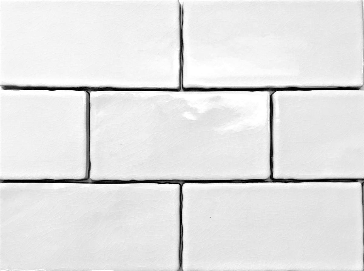 3x6 white crackled glaze ceramic wall tile backsplash