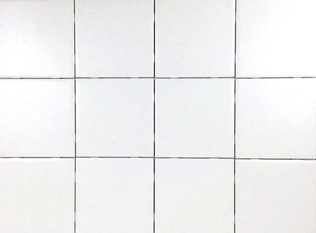 set of 12 daltile glossy white ceramic tiles for arts crafts 4x4 backsplash