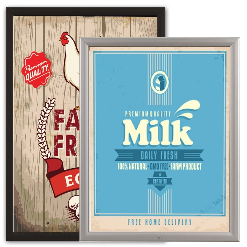 security poster frames 22 x 28 and 24 x 36