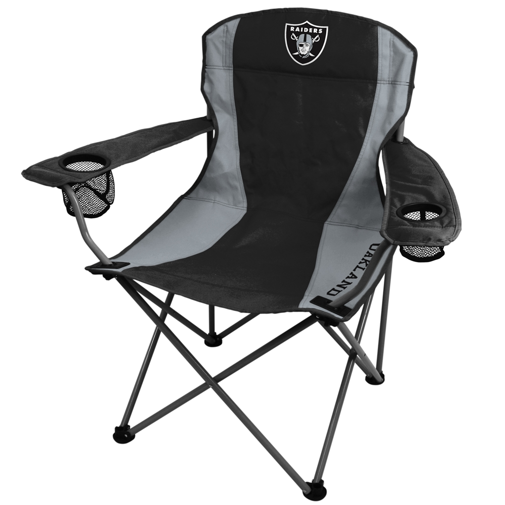 oakland raiders chair chaise lounge with storage folding xl big boy nfl all departments