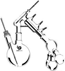 Short Path Distilling Apparatus