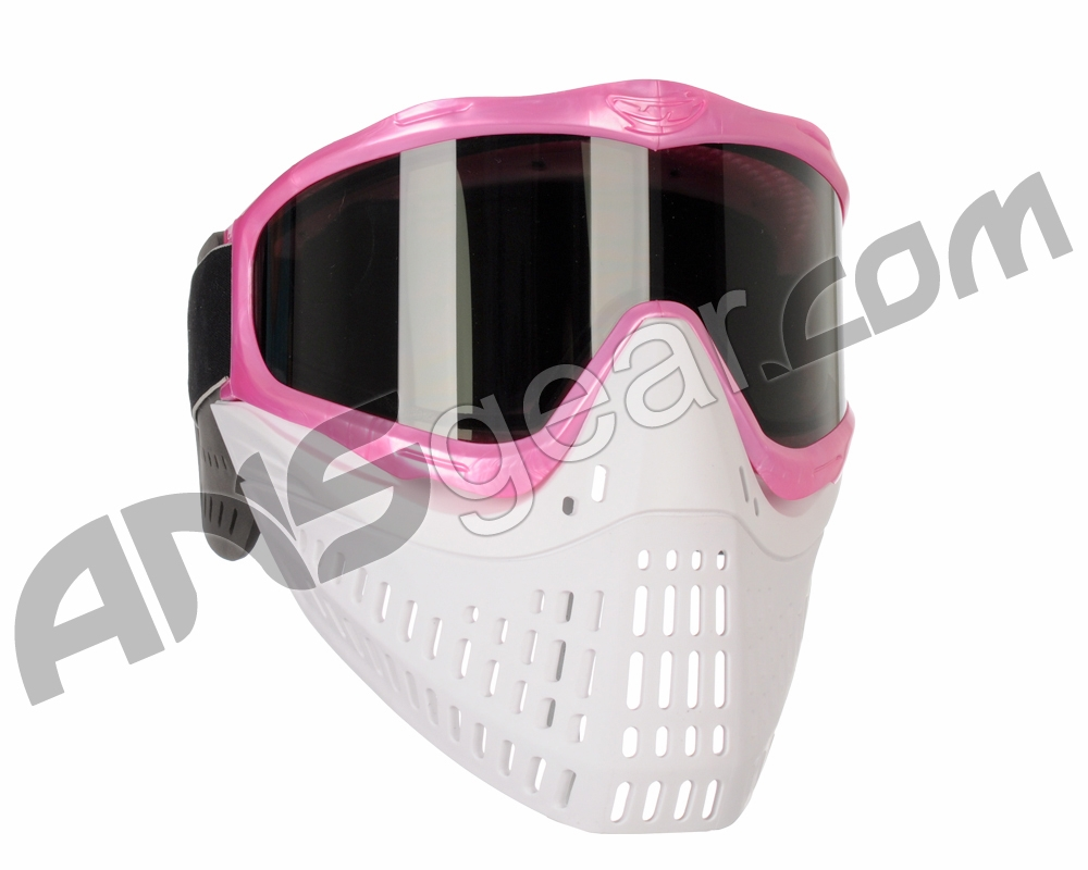 Jt Proflex Thermal Paintball Mask With Smoke Lens - Pink