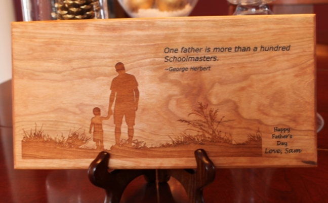 father s day wood
