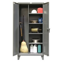 Stronghold Broom Closet Cabinets | Shelving Inc.
