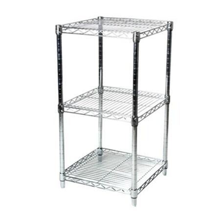 24 d wire shelving w 3 shelves