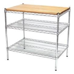 Wire Kitchen Cart Decorative Shelves Island Kit Shelving Com Additional Photos