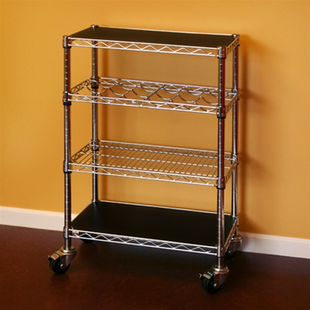 wire kitchen cart cabinet freestanding 14 d x 24 w 34 h shelving inc additional photos