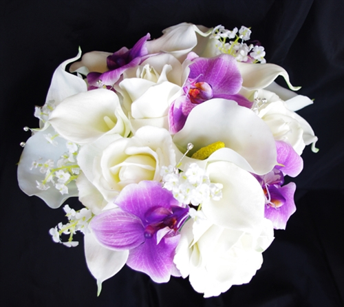 Gallery Orchid And Rose Bouquets