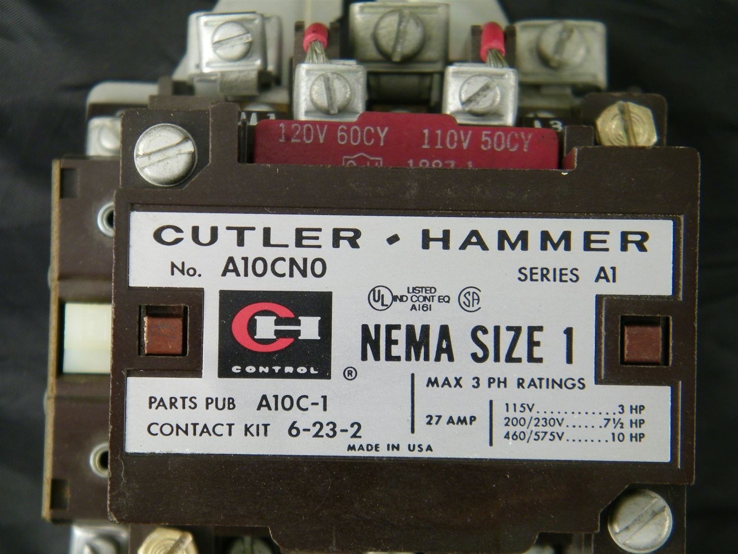medium resolution of a10cno a10cn0 cutler hammer westinghouse advantage starter wiring diagram