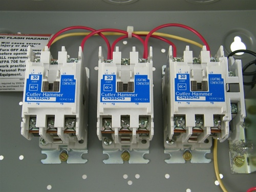 Pole Lighting Contactor Wiring Diagram