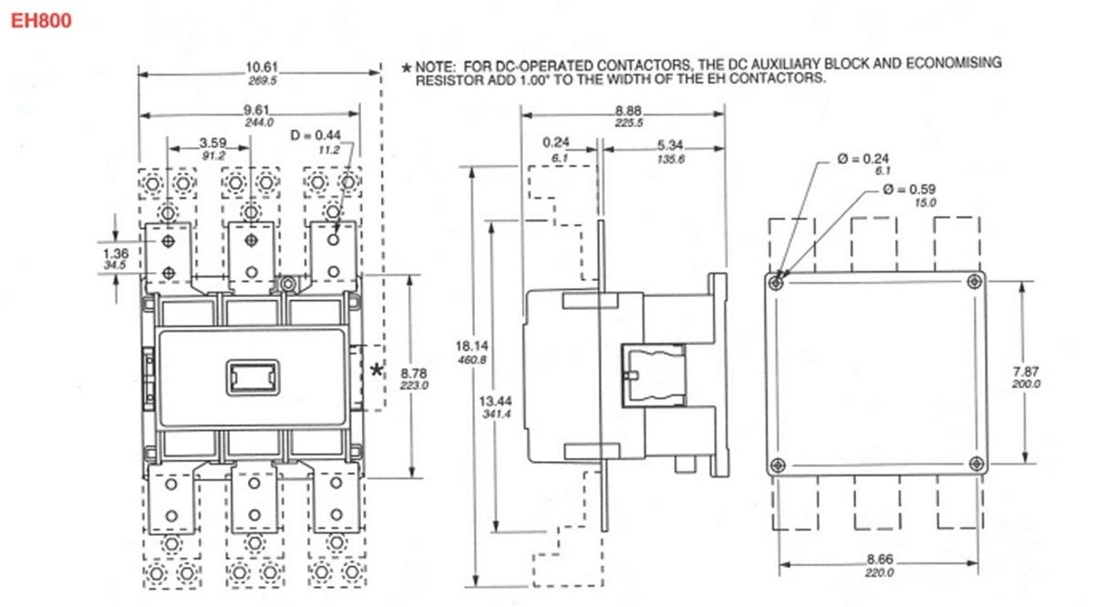 medium resolution of automationdirect yc cn eh700 2 4t 1460633537 how to wire a motor siemens motor starter wiring diagram