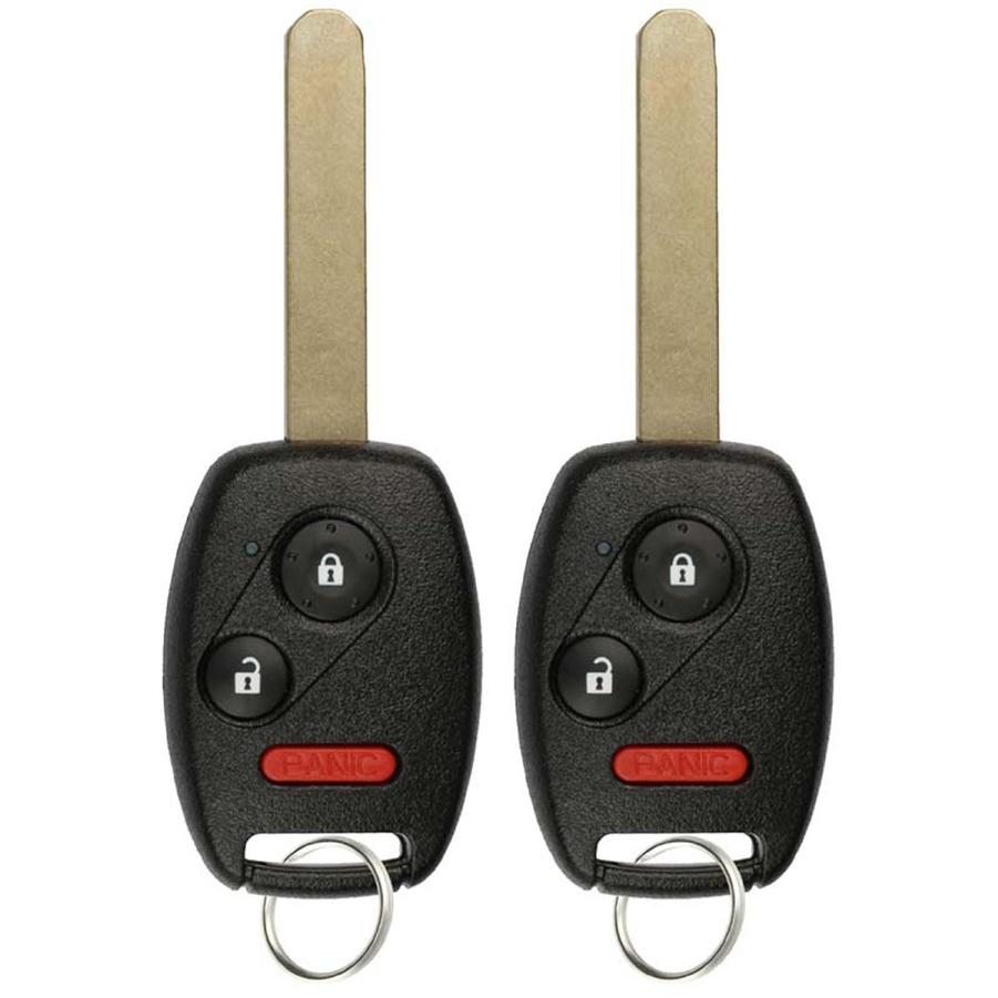 2 Key Fob Keyless Entry Remote Honda Civic Lx Odyssey