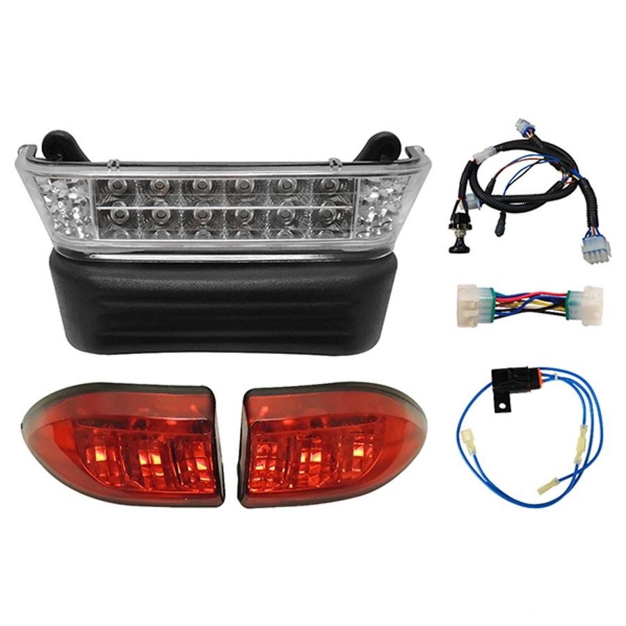 rhox upgradeable led club car precedent complete light kit [ 900 x 900 Pixel ]