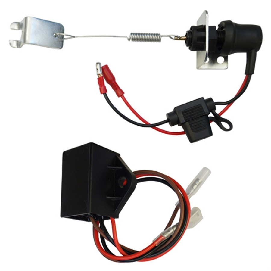 small resolution of rhox byo club car precedent brake light kit with time delay