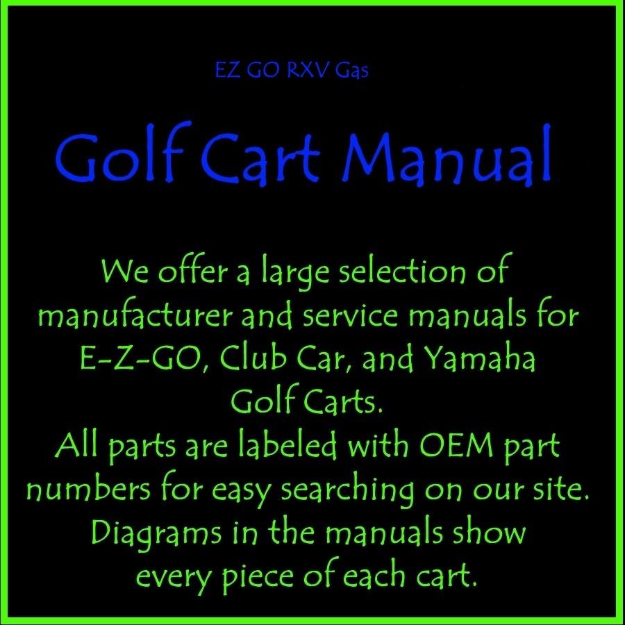 medium resolution of rxv golf cart part diagram