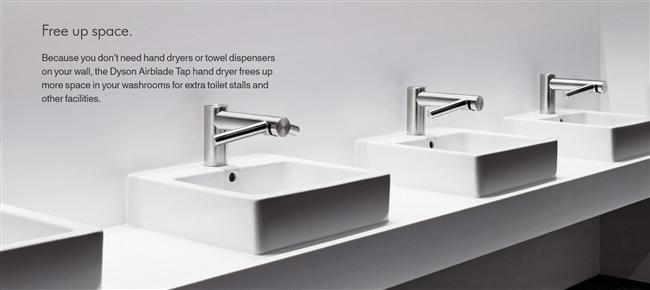 dyson airblade tap hand dryer
