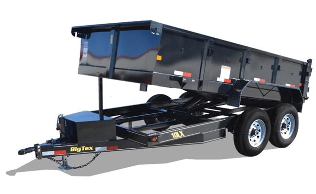 big tex gooseneck wiring diagram warn winch 4 solenoid 25du tandem dual dump trailer trailers burgoon company 10lx pro series axle extra wide