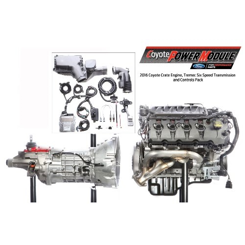 5.0L COYOTE POWER MODULE 6 SPEED MANUAL (M-9000-PMCM) 2015+