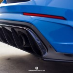 2016 2018 Focus Rs Carbon Fiber Rear Diffuser
