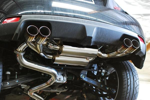 mxp performance t304 stainless catback exhaust 2008 2012 subaru impreza sti hatchback