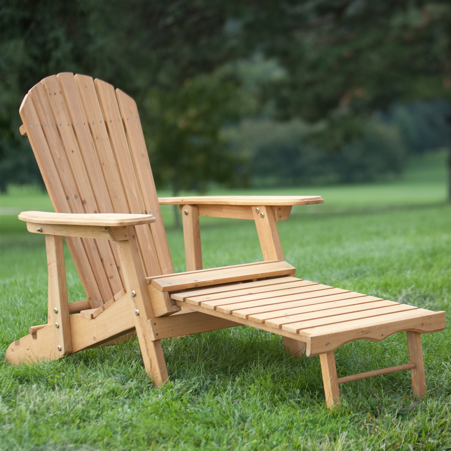 adirondack chair with ottoman plans cover hire farnborough reclining pull out in