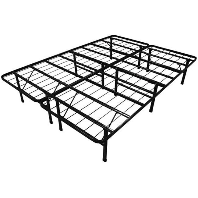 black metal folding garden chairs foldable lounge queen-size duramatic steel platform bed frame | fastfurnishings.com