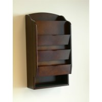Door / Wall Mount Organizer Letter Holder Mail Sorter in