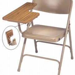 High Folding Chair Best Office For Sciatica Premium With Pressure Tablet Armfrom National Larger Photo Email A Friend