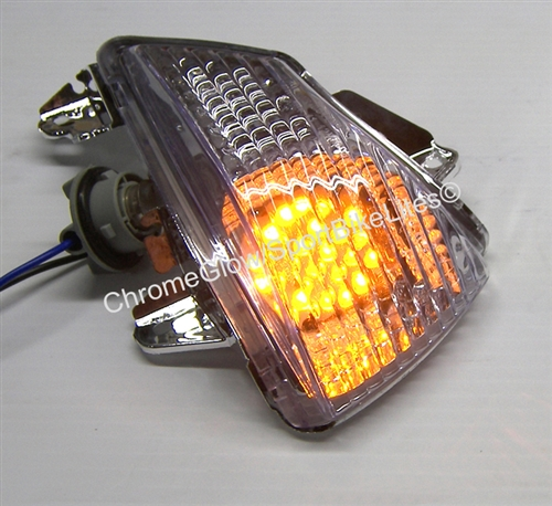Motorcycle License Plate Frame Led Lights