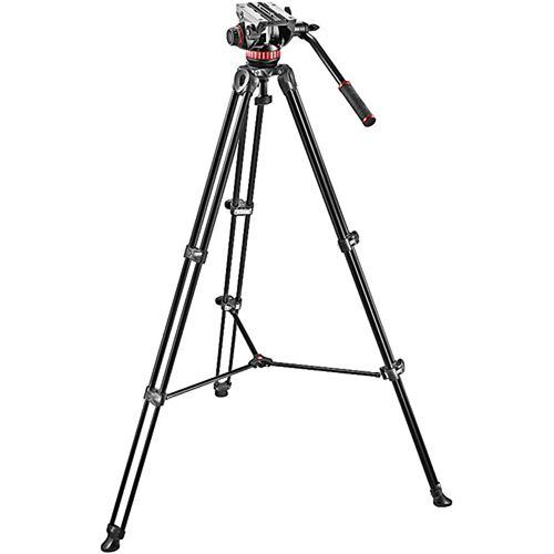 MANFROTTO VIDEO KIT TWIN LEG TRIPOD
