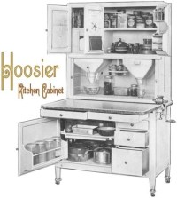 Replacement Hardware for Antique Hoosier Cabinets