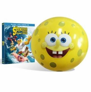 The SpongeBob Movie Sponge Out of Water w Beach Ball BD