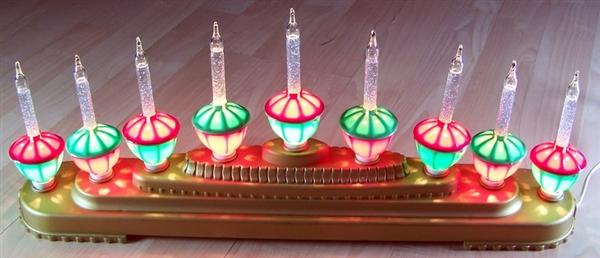 Christmas Lights Decoration Centerpiece