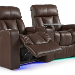 2 Seat Theater Chairs Black Outdoor Chaise Lounge Chair The Paragon Home By Palliser Custom Seating Theatre