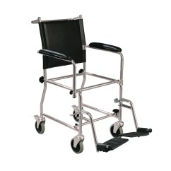Drive Shower Chair Parts Suv Captain Chairs Portable Upholstered Wheeled Drop Arm Chrome Bedside Commode