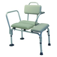 Commode Chair Walgreens Cushions Lumex Padded Transfer Bench 7955a