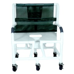 Pvc Commode Chair High Folding Chairs Lumex Shower 89350