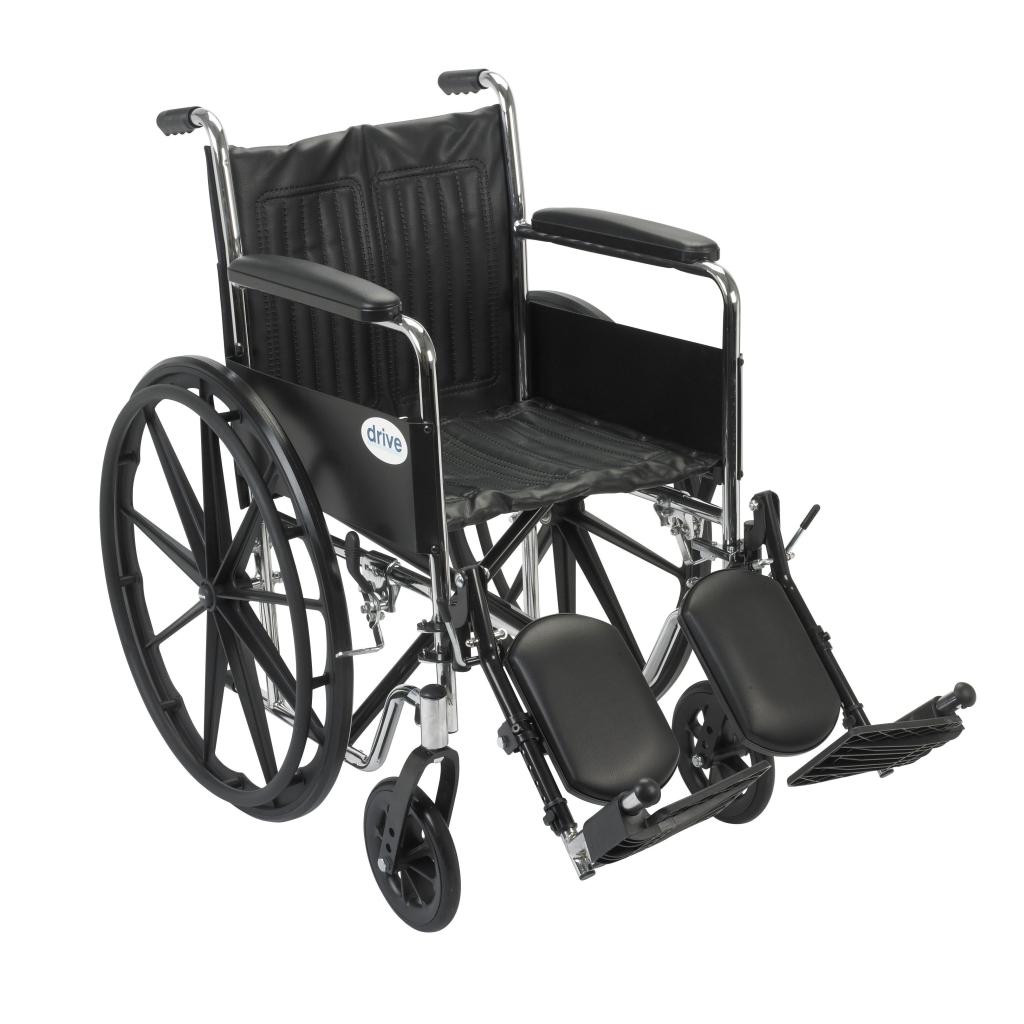 invacare clinical recliner geri chair stackable resin chairs chrome sport wheelchair with full arms and elevating leg rest
