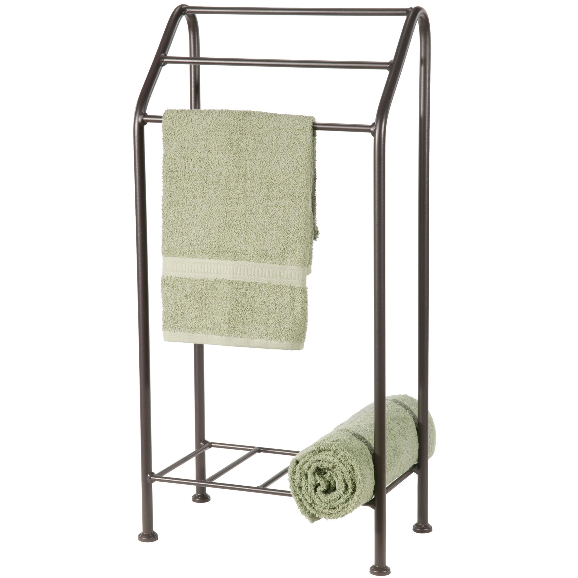 Bathroom Towel Stand Free Standing Monticello Towel Rack