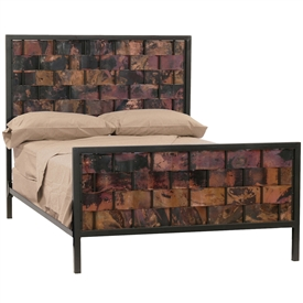 iron bedroom furniture and decor